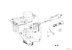 114 2002 M10 Sedan / Fuel Preparation System Carburetor Mounting Parts-13