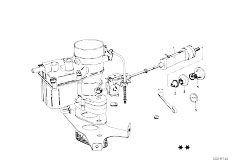 114 2002 M10 Sedan / Fuel Preparation System Carburetor Mounting Parts-9