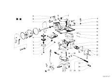 114 2002 M10 Sedan / Fuel Preparation System Carburetor Mounting Parts-8