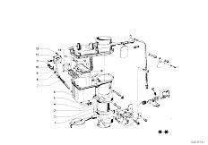 114 2002 M10 Sedan / Fuel Preparation System Carburetor Mounting Parts-12