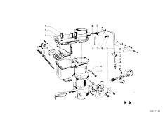 114 2002 M10 Sedan / Fuel Preparation System Carburetor Mounting Parts-10