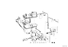 114 2002 M10 Sedan / Fuel Preparation System Carburetor Mounting Parts-11