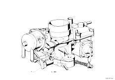 114 2002 M10 Sedan / Fuel Preparation System Carburetor Pdsi-2