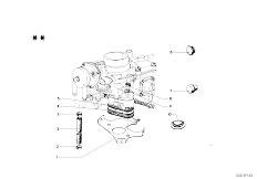 114 2002 M10 Sedan / Fuel Preparation System Carburetor Mounting Parts-2