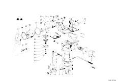 114 2002 M10 Sedan / Fuel Preparation System Carburetor Mounting Parts