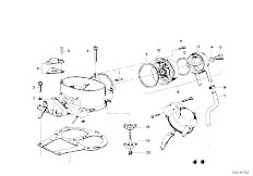 114 2002 M10 Sedan / Fuel Preparation System Carburetor Mounting Parts-7