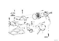 114 2002 M10 Sedan / Fuel Preparation System Carburetor Mounting Parts-6
