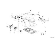 114 2002 M10 Sedan / Fuel Preparation System Carburetor Mounting Parts-5