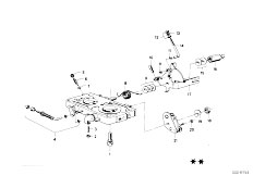 114 2002 M10 Sedan / Fuel Preparation System Carburetor Mounting Parts-4