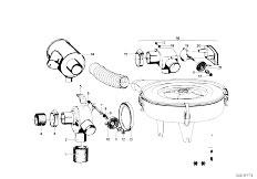 114 2002 M10 Sedan / Fuel Preparation System Suction Silencer Filter Cartridge-2