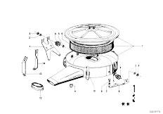 114 2002 M10 Sedan / Fuel Preparation System Suction Silencer Filter Cartridge-3
