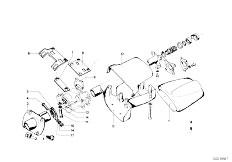 114 2000tii M10 Touring / Steering Steering Column Trim Panel Attach P