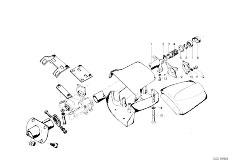 114 2000tii M10 Touring / Steering Steering Column Trim Panel Attach P-2