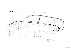 114 2000 M10 Touring / Vehicle Trim Bumper Rear-2
