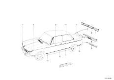 114 2000 M10 Touring / Vehicle Trim Mouldings