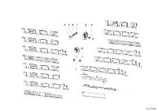 114 2000 M10 Touring / Vehicle Trim Emblems Letterings-2
