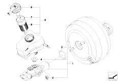 E81 118d N47 3 doors / Brakes Brake Master Cylinder