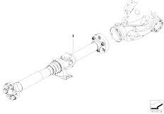 E91N 330i N52N Touring / Drive Shaft Drive Shaft Hag Universal Joint
