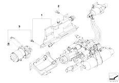 E63 645Ci N62 Coupe / Manual Transmission Gs6s53bz Smg Expansion Tank Pump