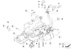 E63 645Ci N62 Coupe / Manual Transmission Gs6s53bz Smg Hydraulic Mounting