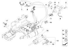 E63 645Ci N62 Coupe / Manual Transmission Gs6s53bz Smg Actuator Sensoren