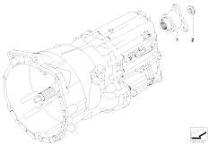 E63 645Ci N62 Coupe / Manual Transmission Gs6 53bz Dz Drive Output Shaft