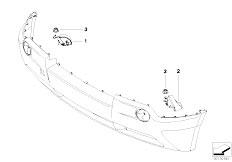 E83N X3 2.0d M47N2 SAV / Vehicle Electrical System/  Horn