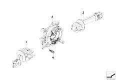 E83N X3 2.0d M47N2 SAV / Vehicle Electrical System/  Steering Column Switch