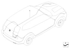 E83N X3 2.0d M47N2 SAV / Vehicle Electrical System/  Main Wiring Harness