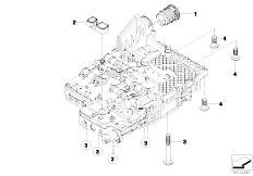 E91 335xi N54 Touring / Automatic Transmission Ga6hp19z Mechatronics Mounting Parts