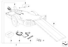 E46 330xd M57 Sedan / Universal Accessories Trailer Motorcycle Module