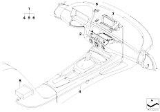 E85 Z4 2.0i N46 Roadster / Audio Navigation Electronic Systems Retrofit Kit Navigation With Monitor
