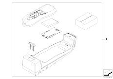 E63 645Ci N62 Coupe / Communication Systems/  Retrofit Car Telephone Professional