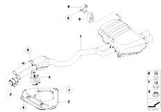 6974631 Modul Radarowej Ochrony W rza also Exhaust Manifold With Catalyst as well Rear axle as well Bmw Z3 Roadster 6 Cylinder Engine also Spiegelglas Beheizt Weitwinkel Links Z4 51167112583. on bmw z4 3 0i roadster