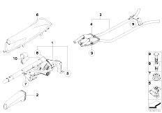 E81 118d N47 3 doors / Brakes Handbrake Lever