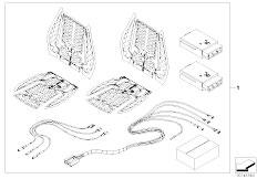 E91N 330i N53 Touring / Seats Front Seat Heating Retrofit