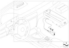 E92 325d M57N2 Coupe / Communication Systems Retrofit Kit Hands Free Facil Bluetooth