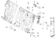 E91N 330i N53 Touring / Seats Through Loading Facility Single Parts