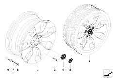E92 323i N52N Coupe / Wheels Bmw Light Alloy Wheel Spider Spoke 158