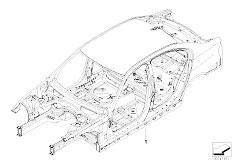 E90N 320i N43 Sedan / Bodywork Body Skeleton