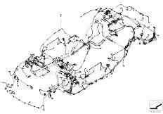 E83N X3 2.0d M47N2 SAV / Vehicle Electrical System/  Main Wiring Harness Duplicate