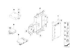 E92 325d M57N2 Coupe / Communication Systems Single Parts Sa 644 Sa 6fl Lugg Comp