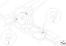 E92 325d M57N2 Coupe / Communication Systems Retrofit Kit Voice Input