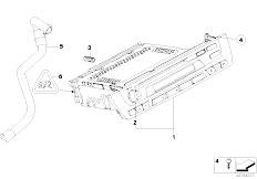 E85 Z4 2.0i N46 Roadster / Audio Navigation Electronic Systems Radio Bmw Basic Cd