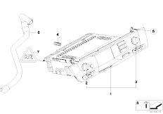 E85 Z4 2.0i N46 Roadster / Audio Navigation Electronic Systems Radio Bmw Navigation