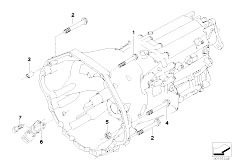 E63 645Ci N62 Coupe / Manual Transmission Gearbox Mounting Parts