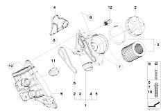 n54 engine cooling system diagram