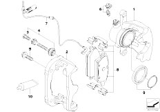 E81 118d N47 3 doors / Brakes Front Wheel Brake Brake Pad Sensor