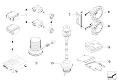 E39 520i M52 Sedan / Vehicle Electrical System/  Single Parts F Official Vehicles