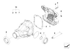 Differential Drive Output on E46 M3 Clutch And Transmission Diagram